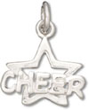Silver Cheer with Start Charm