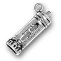 Silver Baby Bottle Charm CF245 CH245