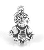 Sterling Silver Doll Charm
