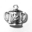 Silver Sippy Cup Charm