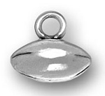 pewter football charm
