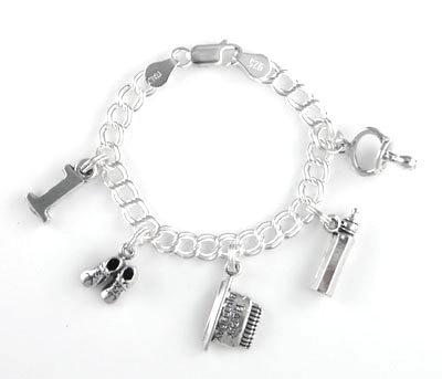 Sterling Silver Charms Charm Bracelets Beads At Country
