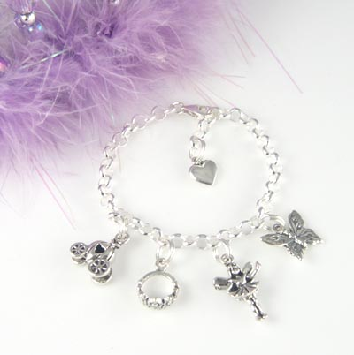 This Darling Princess Charm Bracelet Makes A Thrilling Gift For Any Little Comes With The Adjule Child S