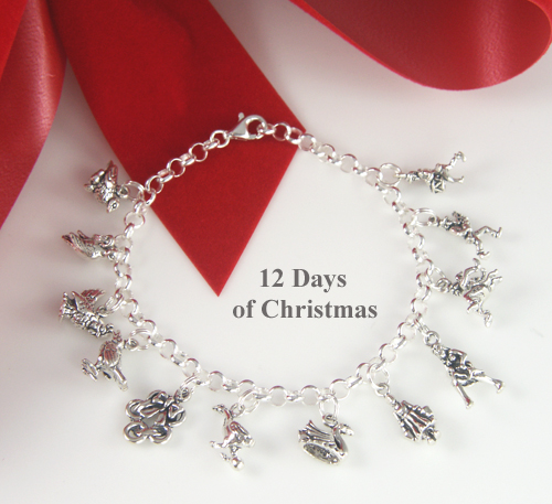 12 days of christmas jewelry